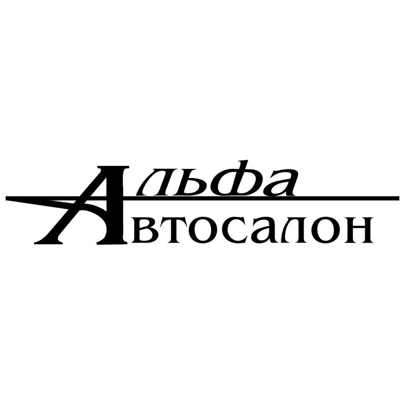 Alfa Autosalon vector