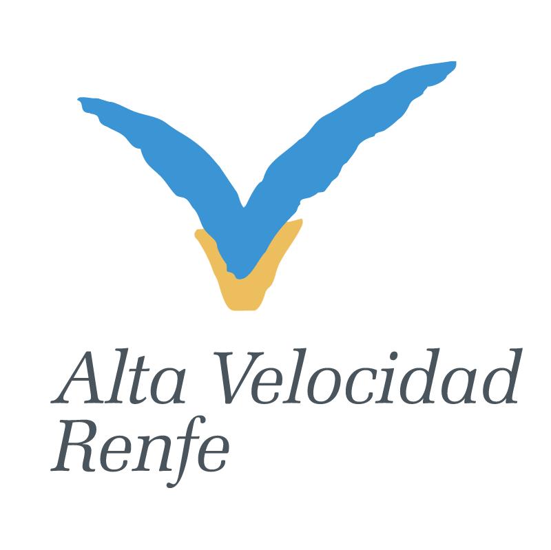 Alta Velocidad Renfe 83609 vector logo