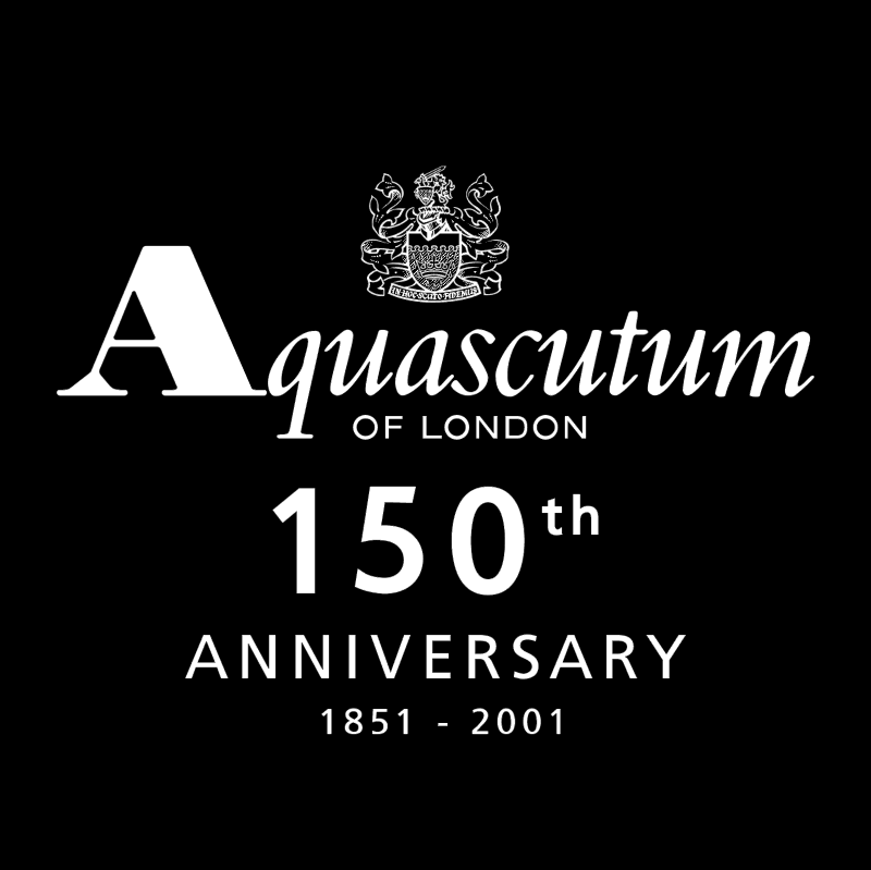 Aquascutum of London vector