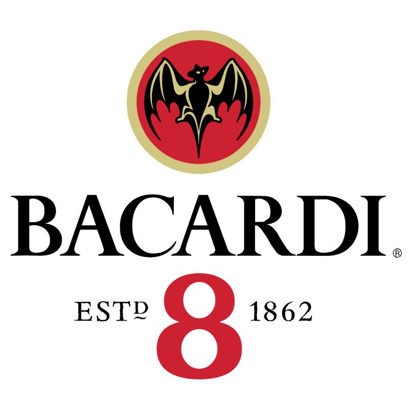 Bacardi 8 vector