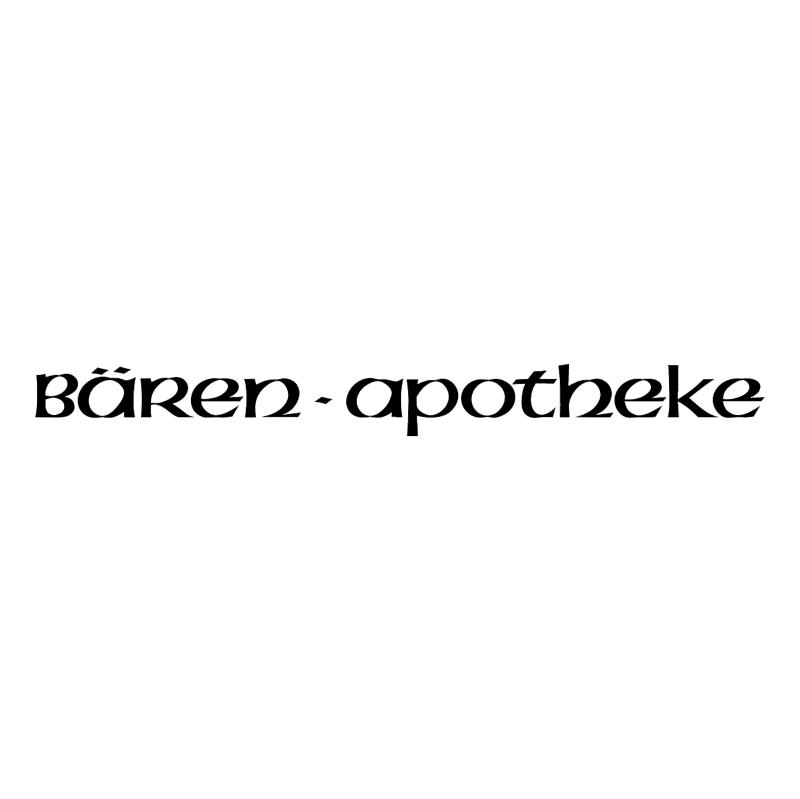Baren Apotheke vector