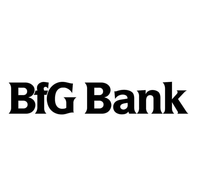 BfG Bank vector