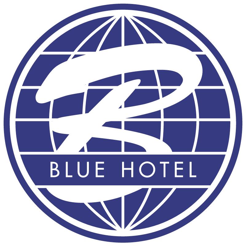 Blue Hotel vector
