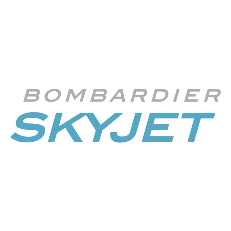 Bombardier Skyjet 79932 vector