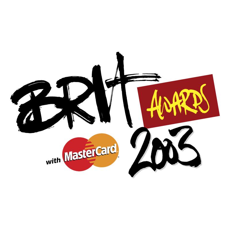 Brit Awards 2003 vector