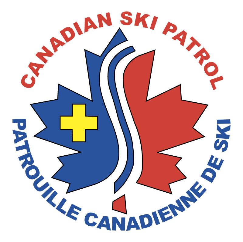 Canadian Ski Patrol System vector