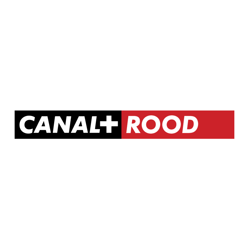 Canal+ Rood vector