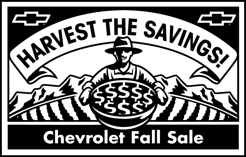 Chevrolet Fall Sale logo2 vector