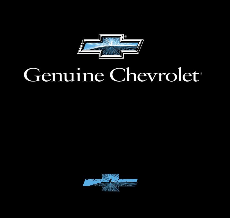 Chevrolet Genuine logo vector