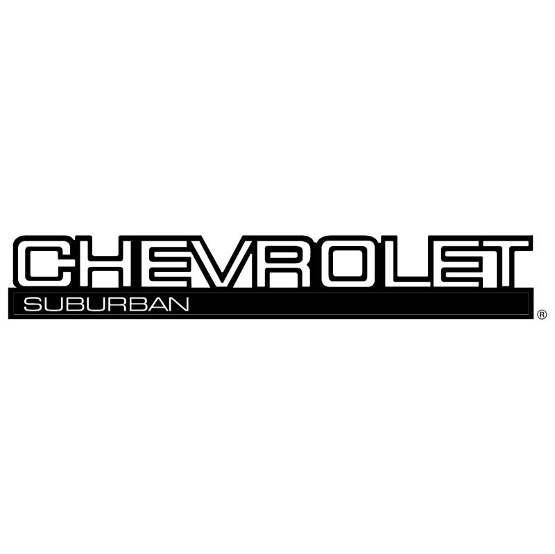 Chevrolet Suburban 8934 vector