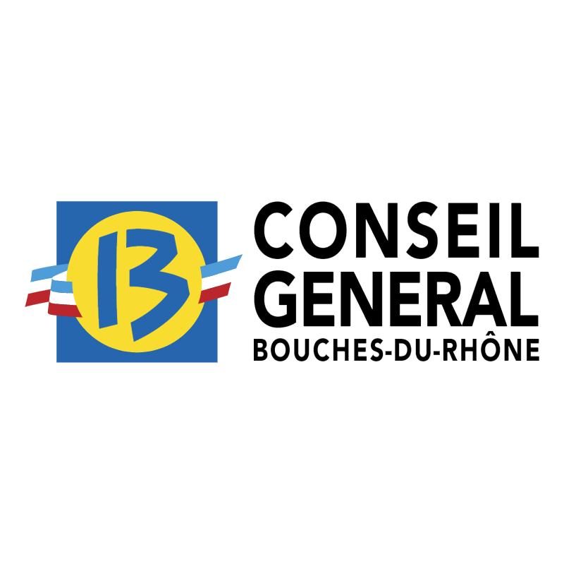 Conseil General des Bouches du Rhone vector