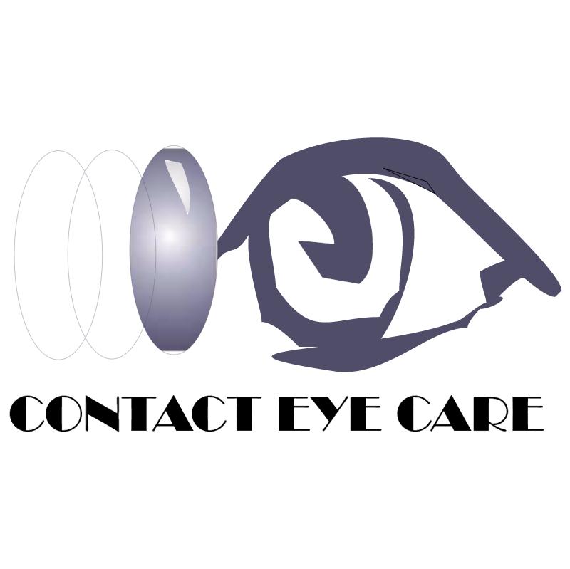 Contact Eye Care vector