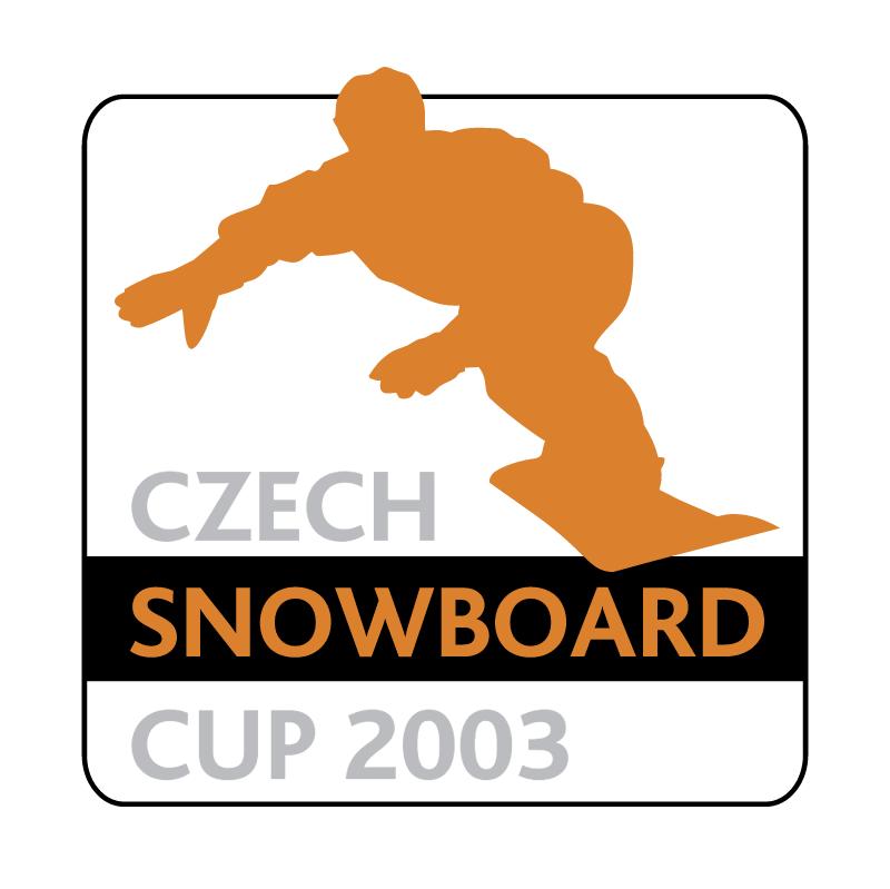 Czech Snowboard Cup 2003 vector