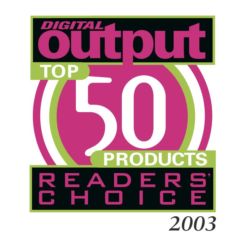 Digital Output Readers Choice vector