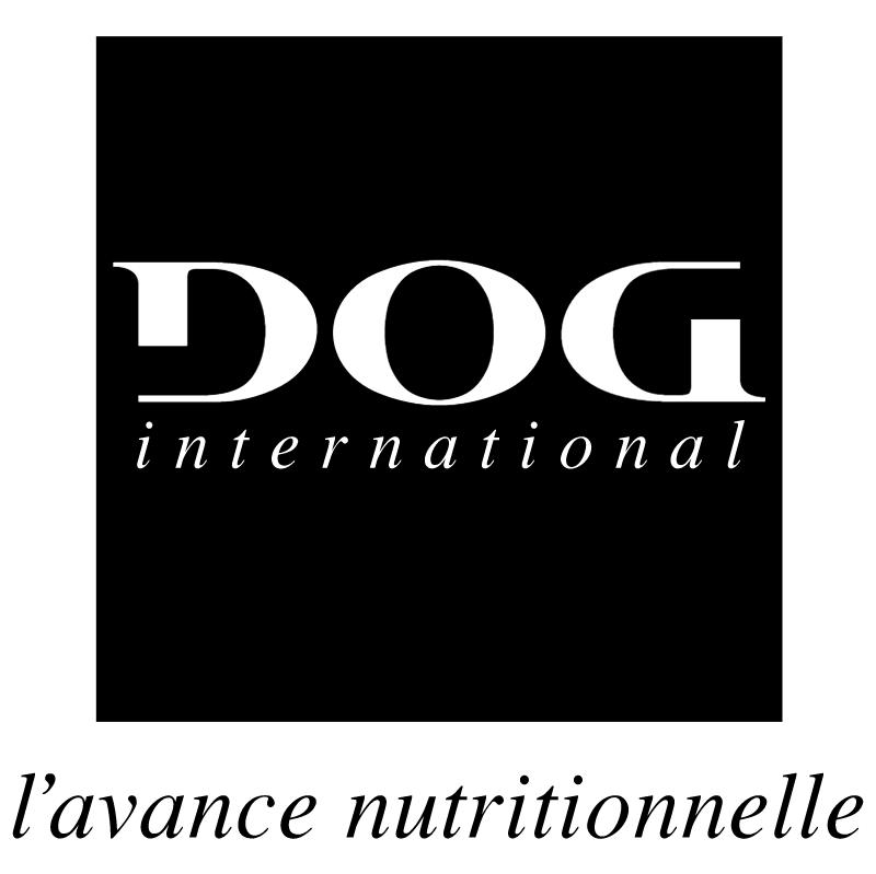 Dog International vector logo