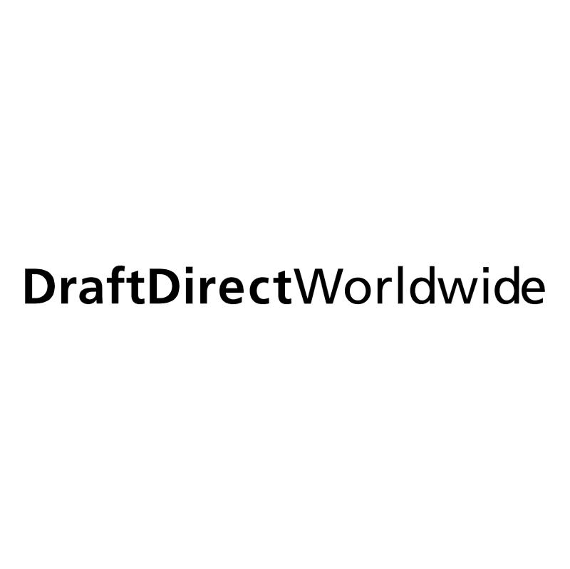 DraftDirect Worldwide vector logo