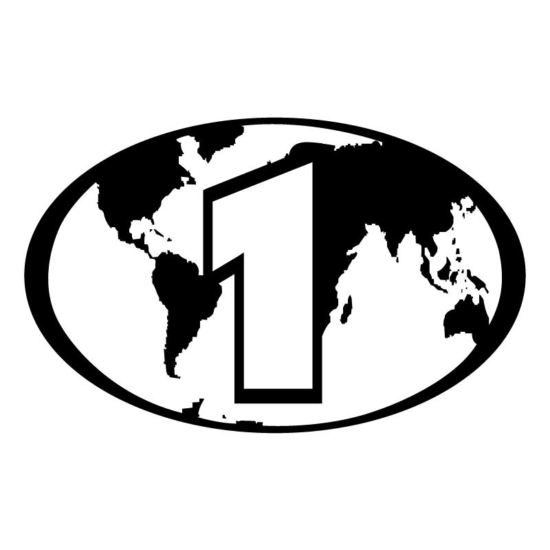 DVD Regional Code 1 vector
