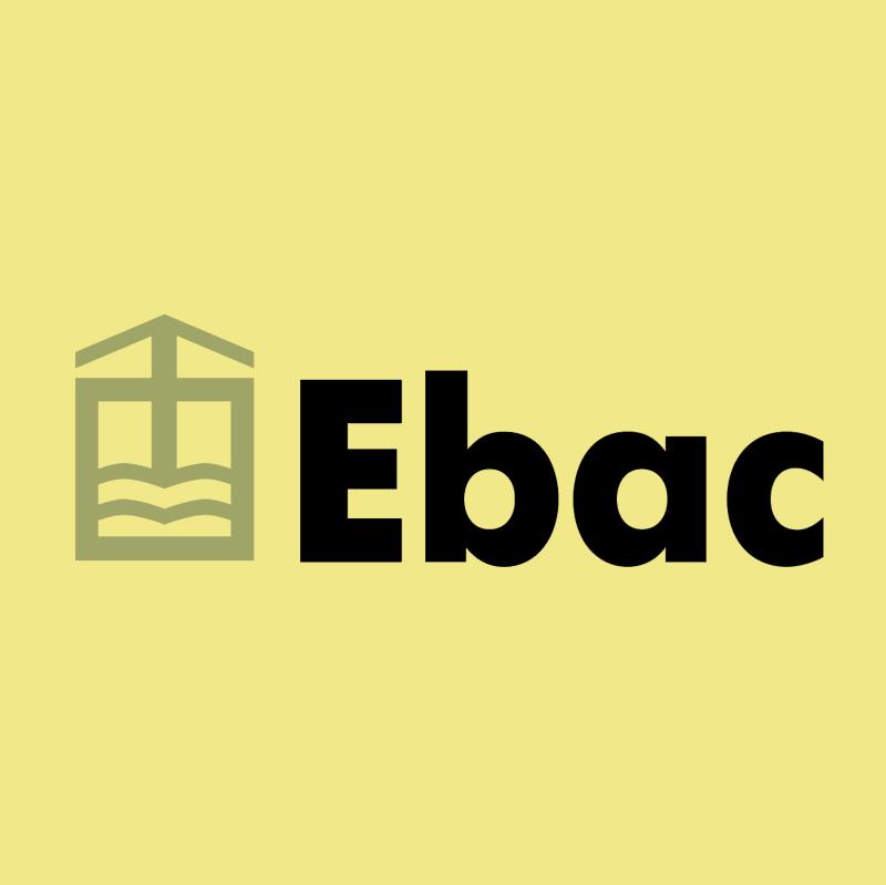 Ebac vector logo