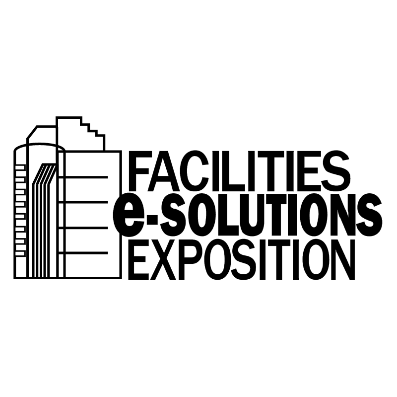 Facilities e solutions exposition vector