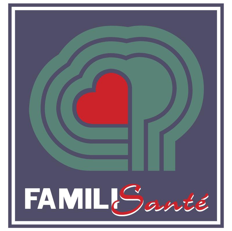 Famili Sante vector