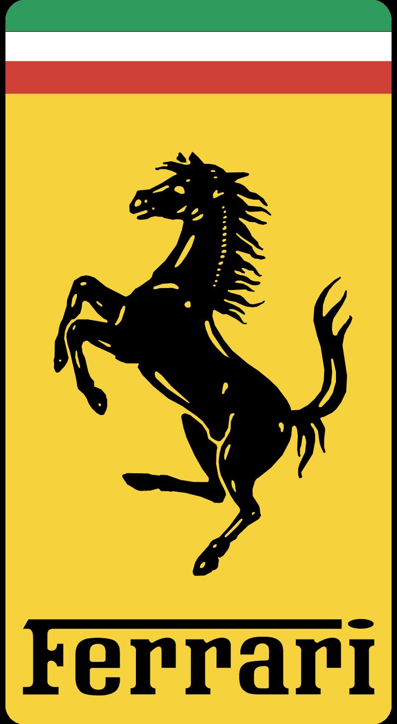 Ferrari Emblem vector