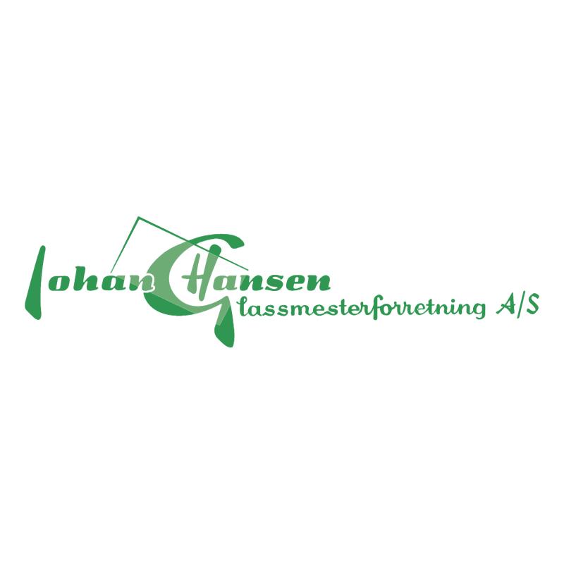 Glassmester Johan Hansen vector