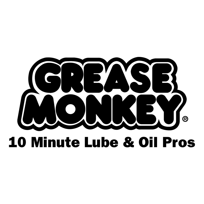 Grease Monkey vector logo