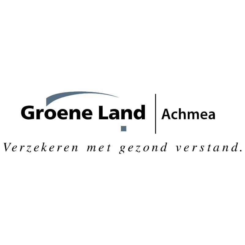 Groene Land vector