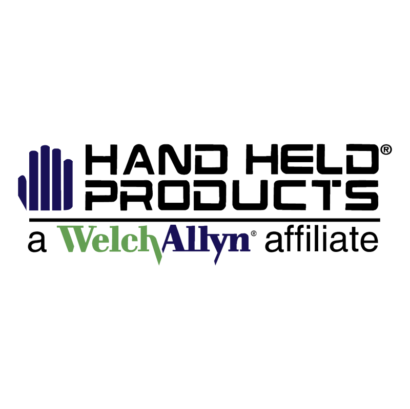 Hand Held Products vector logo