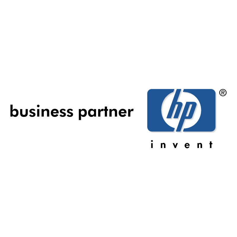 Hewlett Packard Business Partner vector