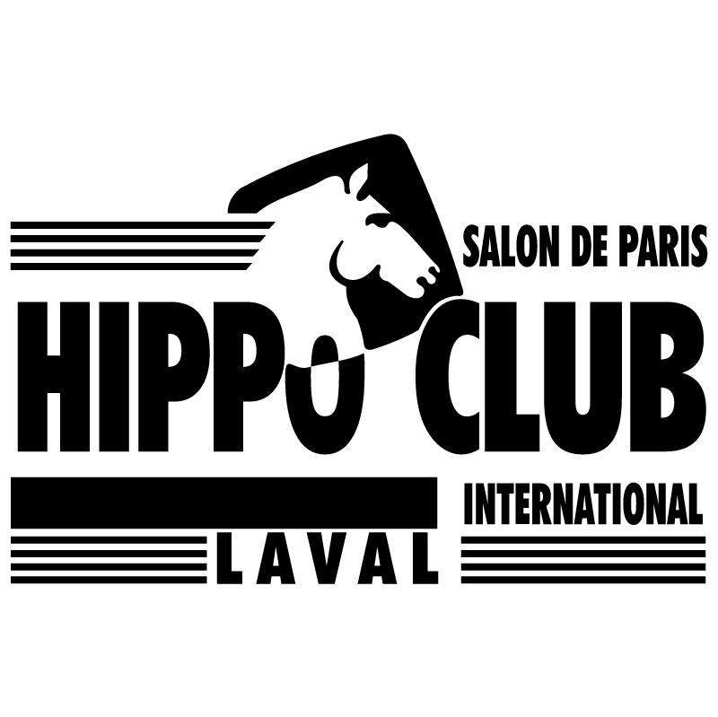 Hippo Club Laval vector
