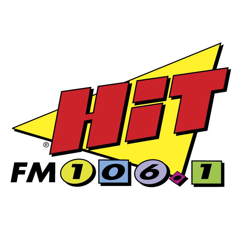Hit FM 106 1 vector