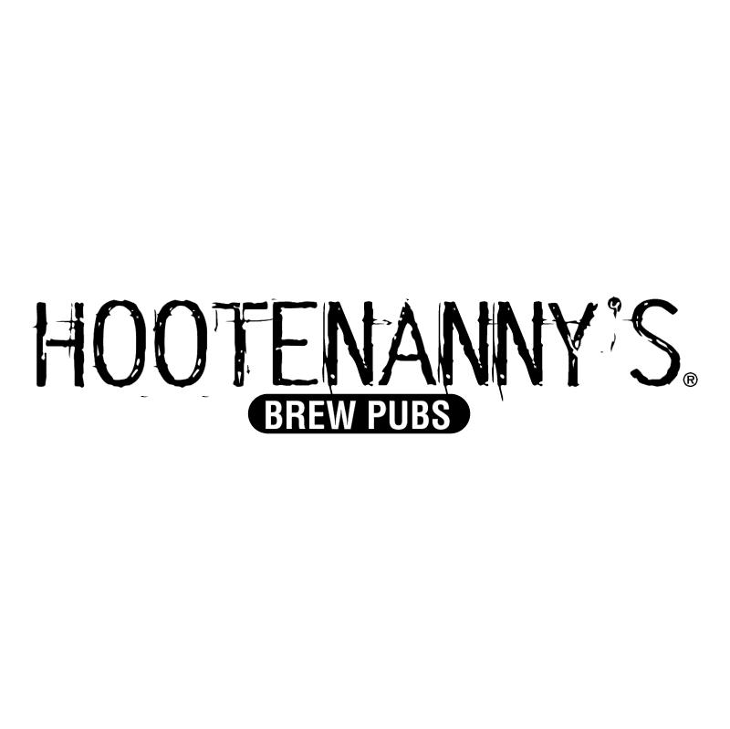 Hootenanny's Brew Pubs vector
