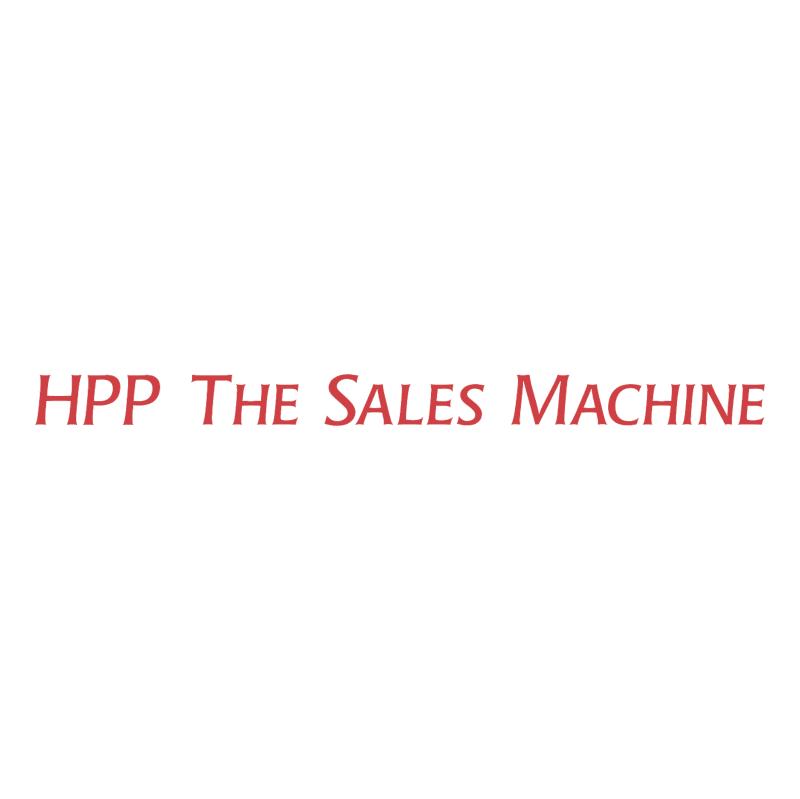 HPP The Sales Machine vector