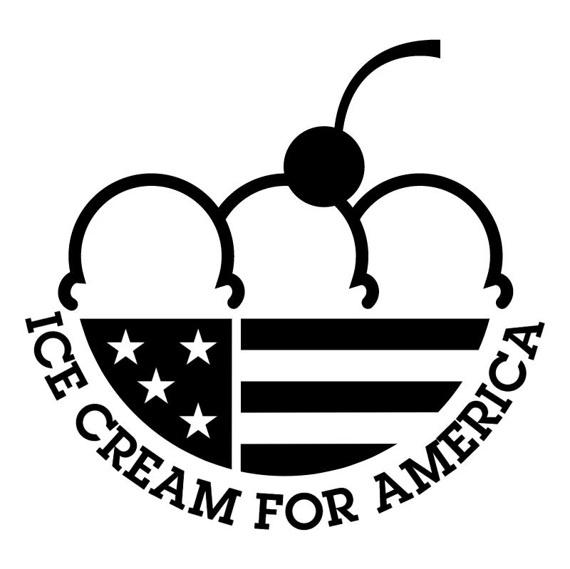 Ice Cream For America vector