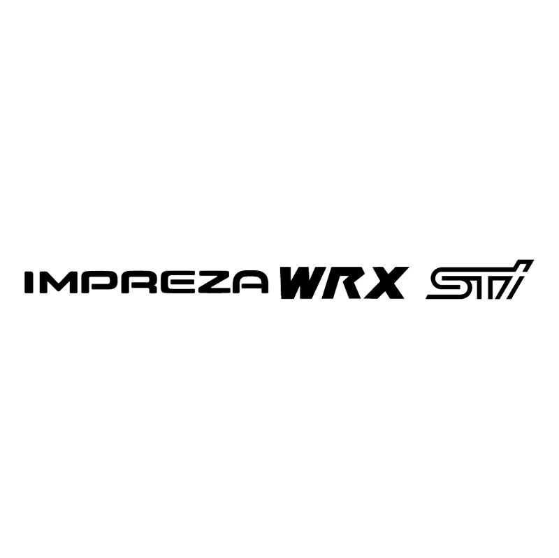 Impreza WRX STI vector
