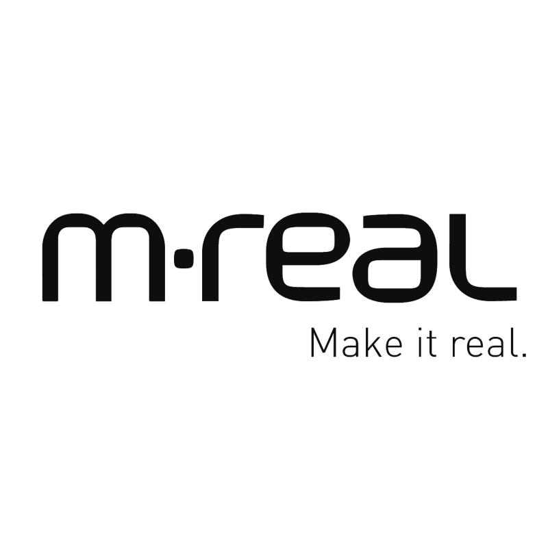 m real vector logo