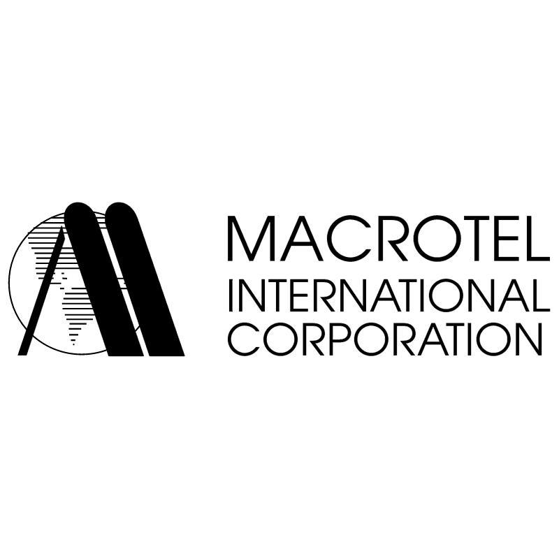 Macrotel vector logo