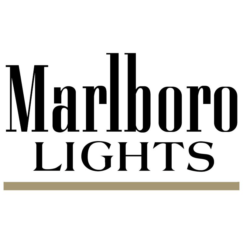 Marlboro Lights vector
