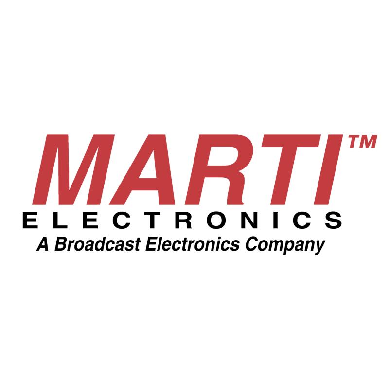 Marti Electronics vector