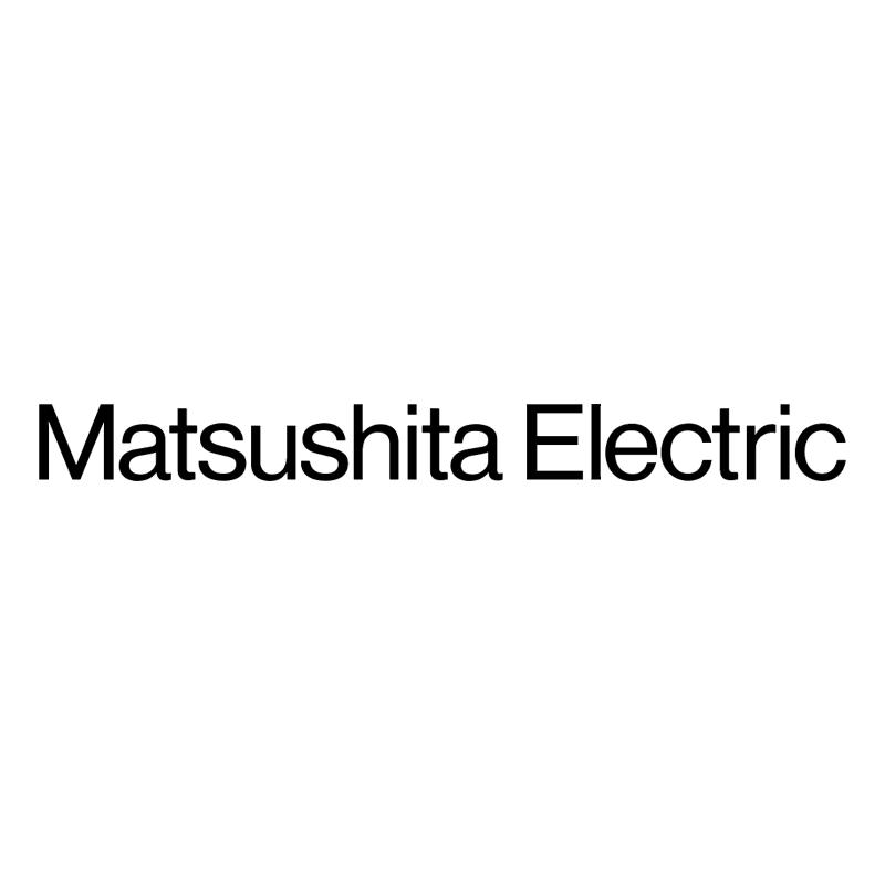 Matsushita Electric vector logo
