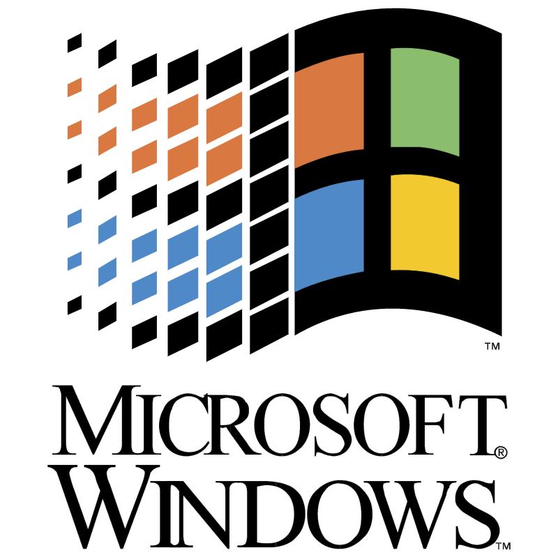 Microsoft Windows vector logo
