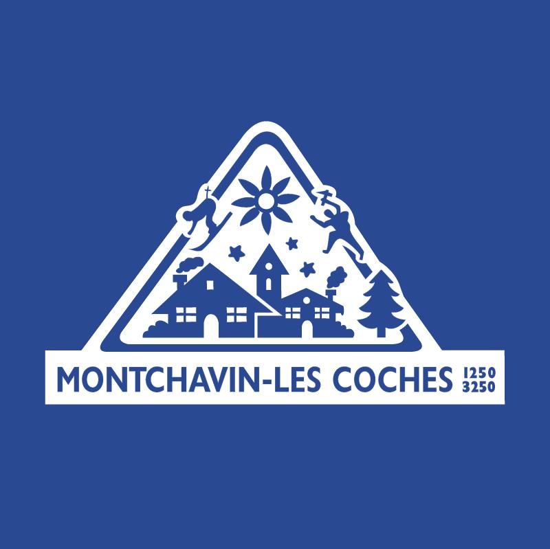 Montchavin Les Coches vector logo