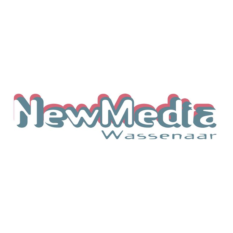 NewMedia design vector logo
