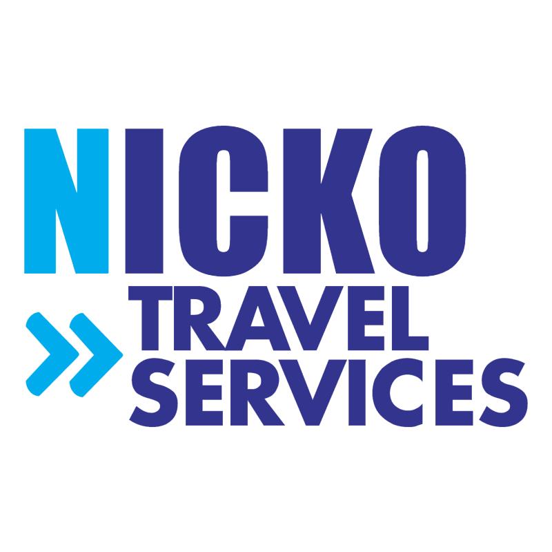 NICKO Travel Services vector logo