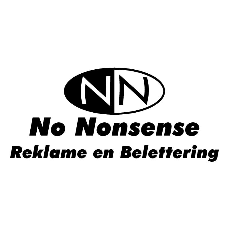 No Nonsense vector logo