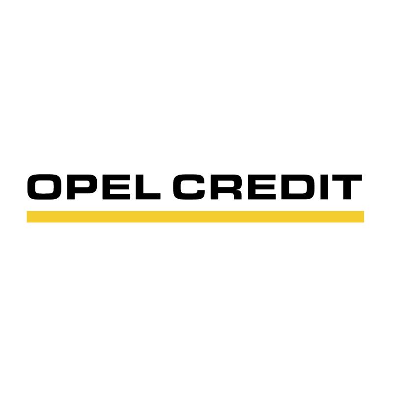 Opel Credit vector