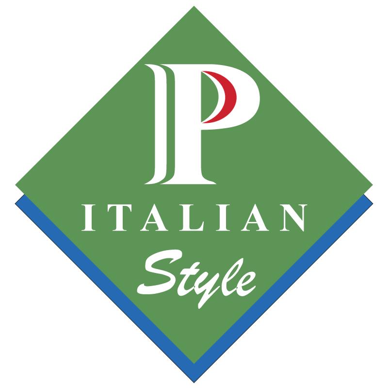P Italian Style vector