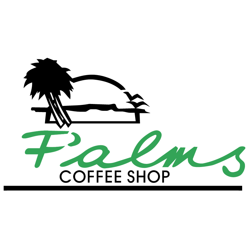 Palms Coffee Shop vector