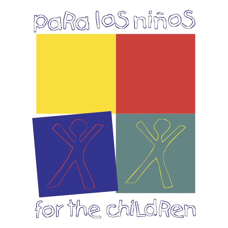 Para Los Ninos For The Children vector
